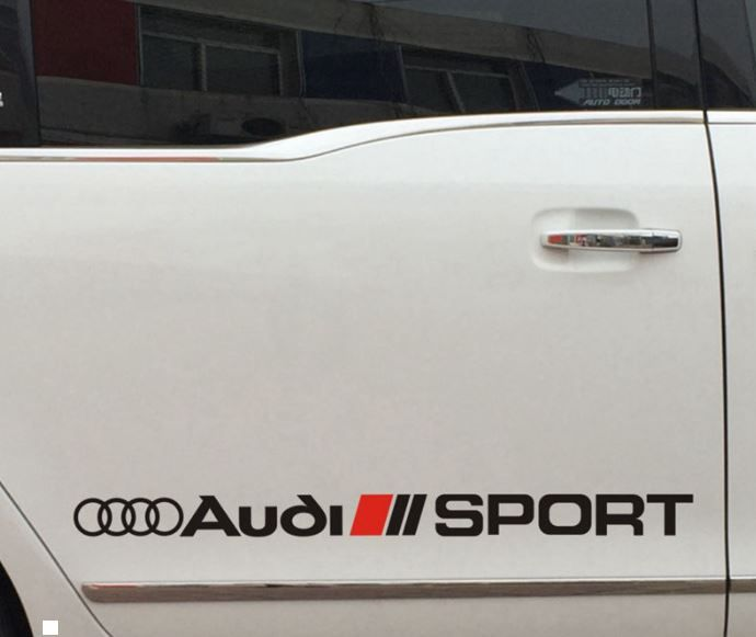 Racing Sport Car Sticker Decal vinyl fit for audi s line