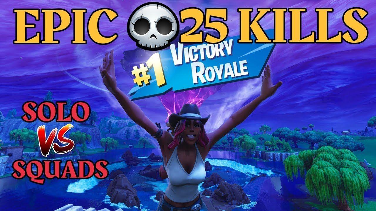 Faze replays epic 25 kill win solo vs squads fortnite