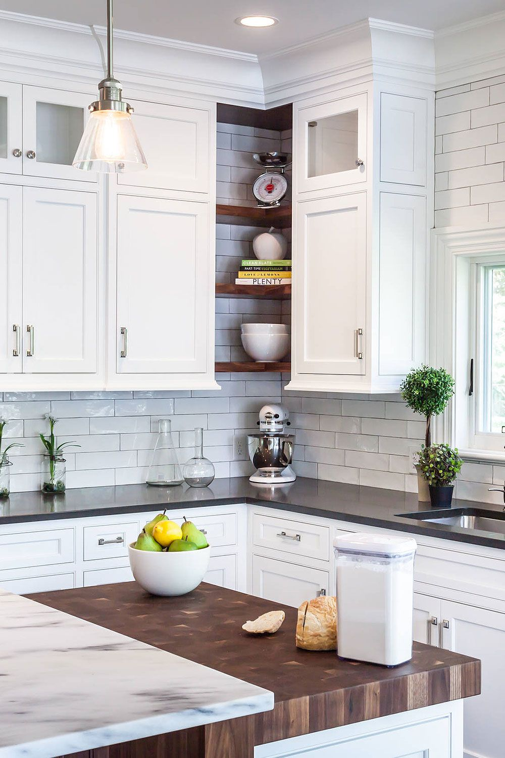 50+ Black Countertop Backsplash Ideas (Tile Designs, Tips ... on Backsplash Ideas For Black Countertops  id=72746