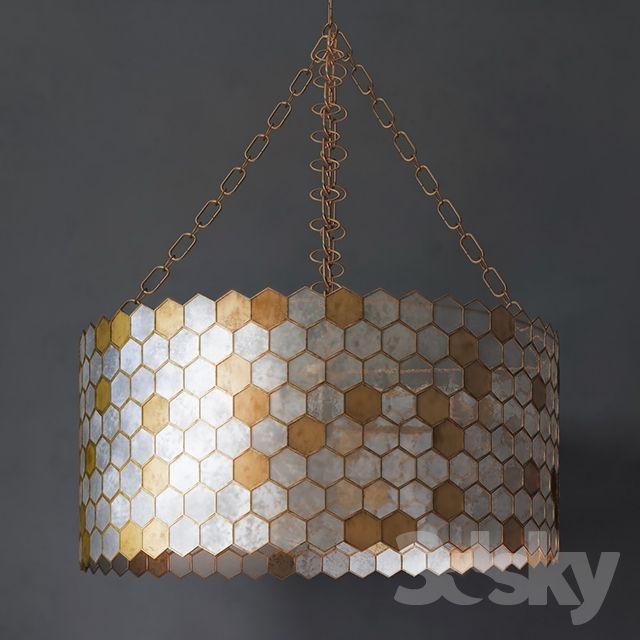 Hogan capiz 3 light pendant 3d light pinterest pendants 3d hogan capiz 3 light pendant aloadofball Images
