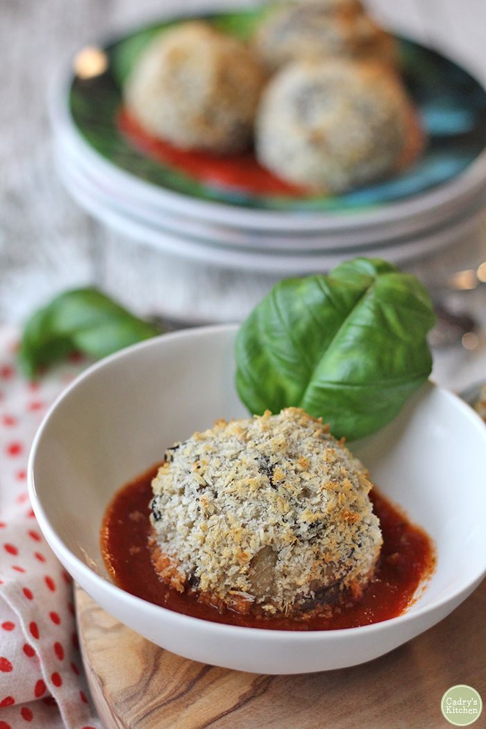 Vegan Arancini Italian Rice Balls In The Air Fryer Or Oven