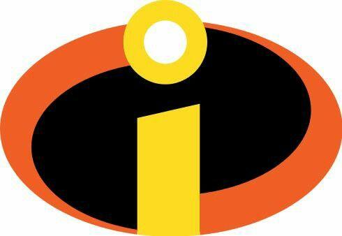 Pin By Dani Doeni On Disney Incredibles Logo The Incredibles Incredibles Birthday Party