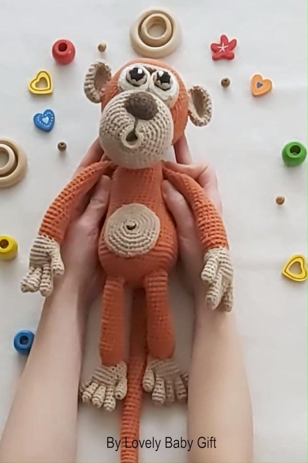 Photo of Crochet Monkey Amigurumi Pattern, Animal