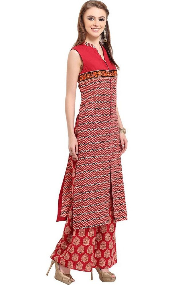 0691acbb36f Latest Designer Kurtis with Different Cut Types