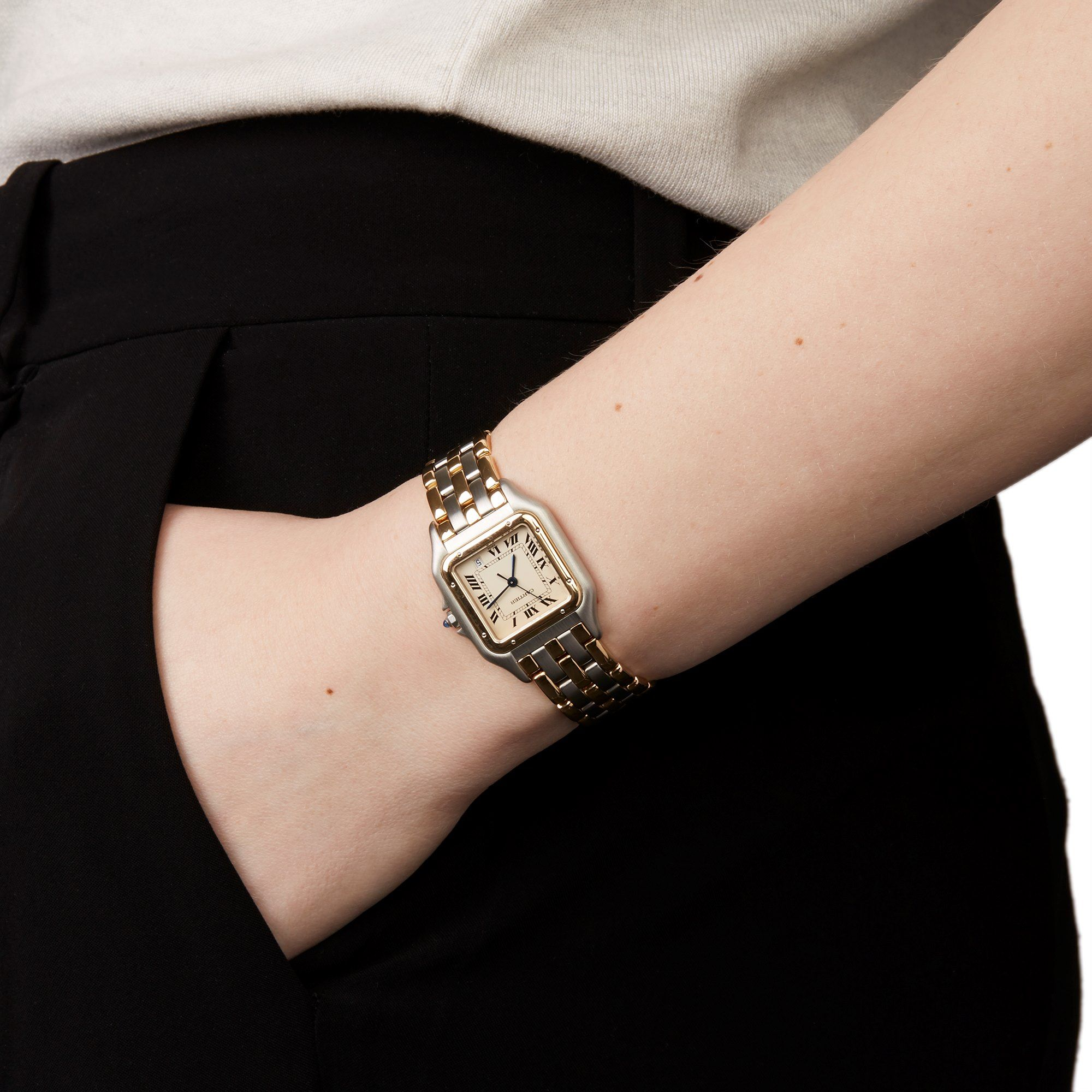 Cartier Panthere W25028b6 1990 S W6086 Second Hand Watches Xupes In 2020 Cartier Watches Women Second Hand Watches Fashion Watches