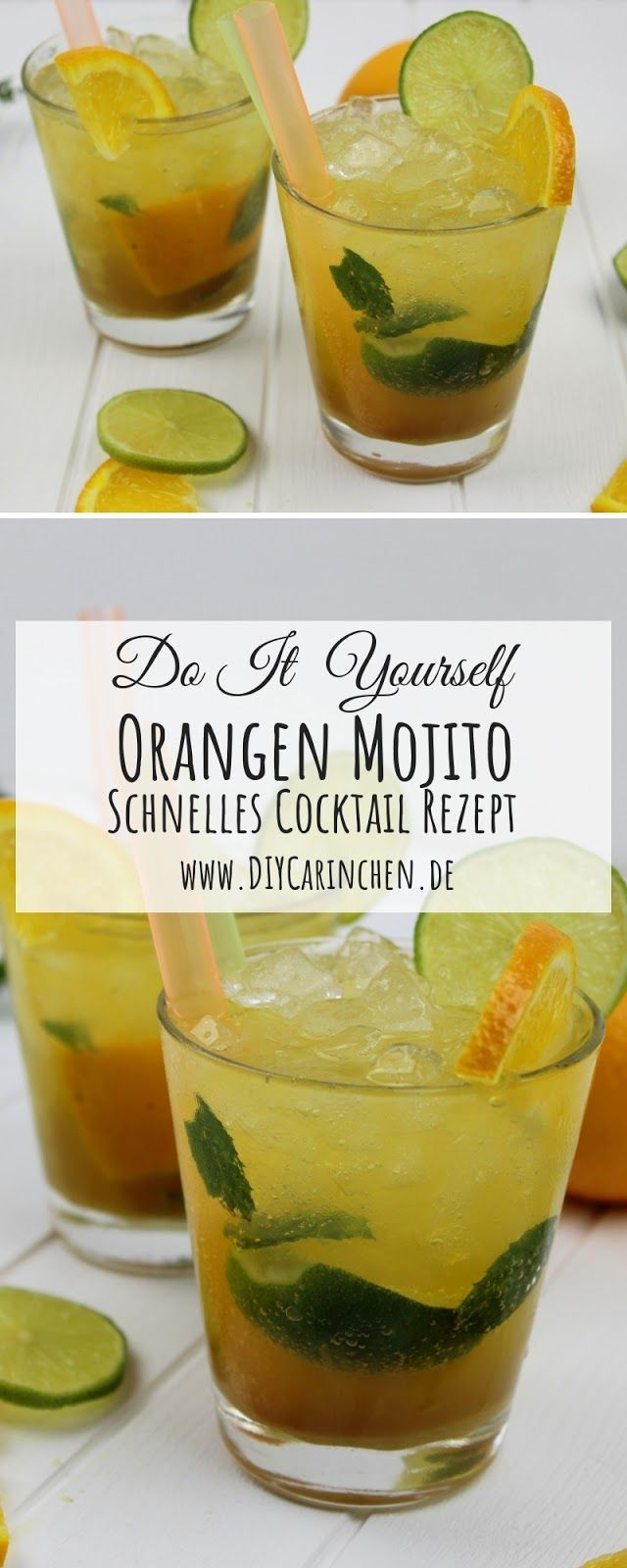 Photo of Simple recipe: Super delicious orange mojito cocktail made quickly