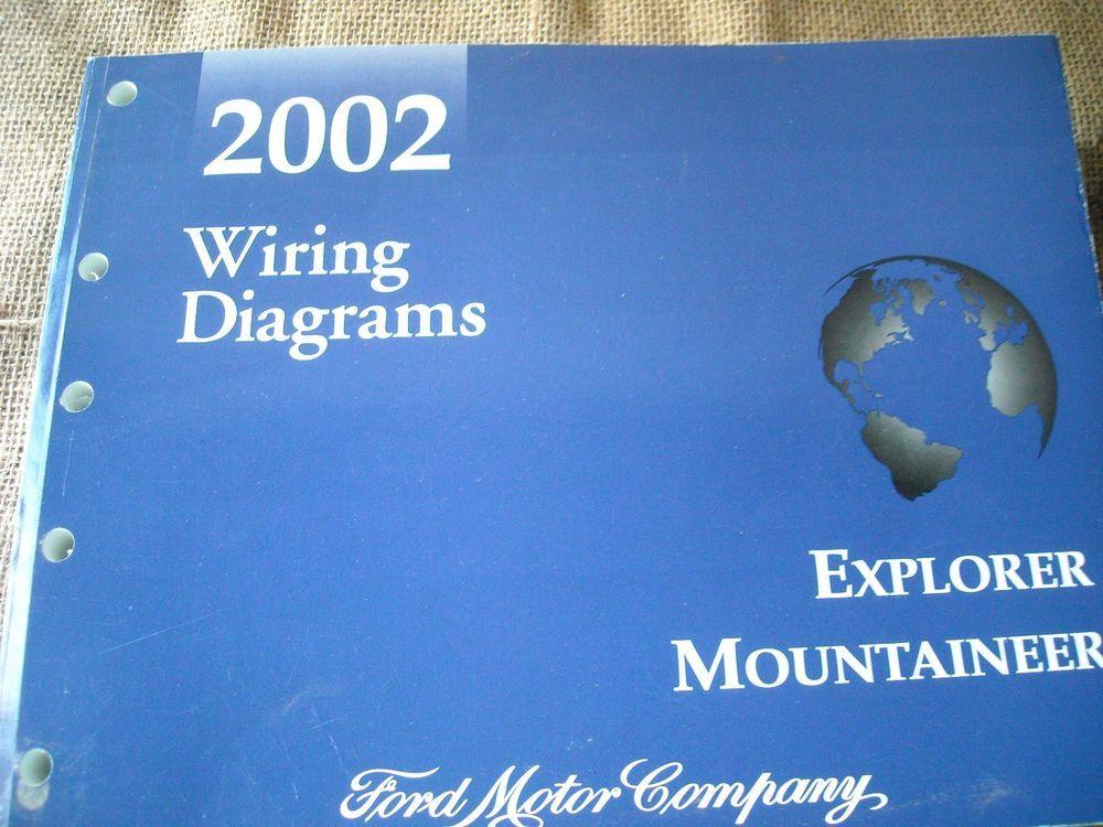2002 Explorer Mountaineer Service Shop Repair Manual Wiring Diagram Fcs 1220602