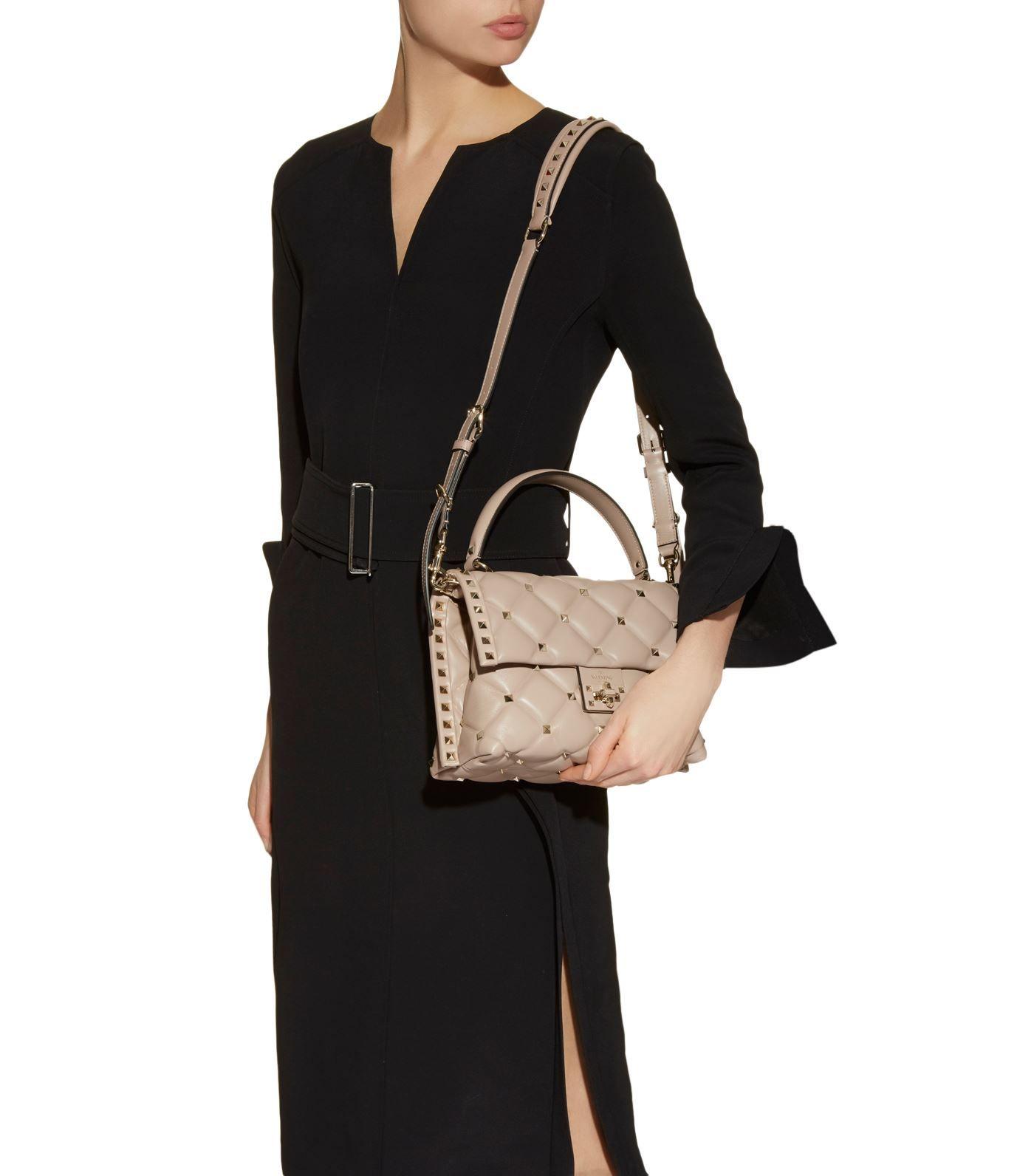 4d921425fa0 Valentino Garavani Mini Leather Candystud Top Handle Bag #AD , #AFFILIATE, # Mini, #Leather, #Valentino, #Garavani, #Handle