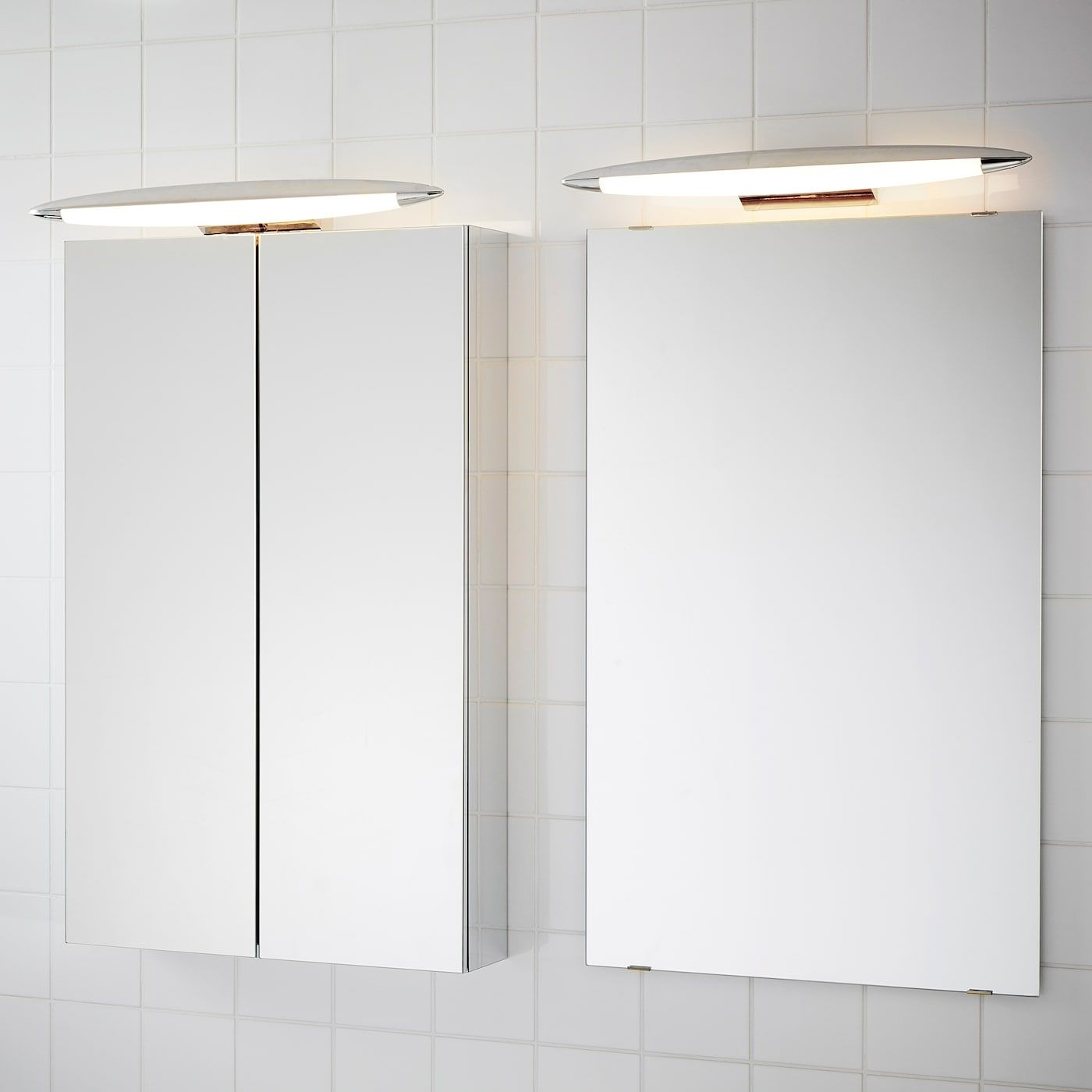 Ikea Skepp Led Cabinet Wall Light In 2020 Bathroom Light