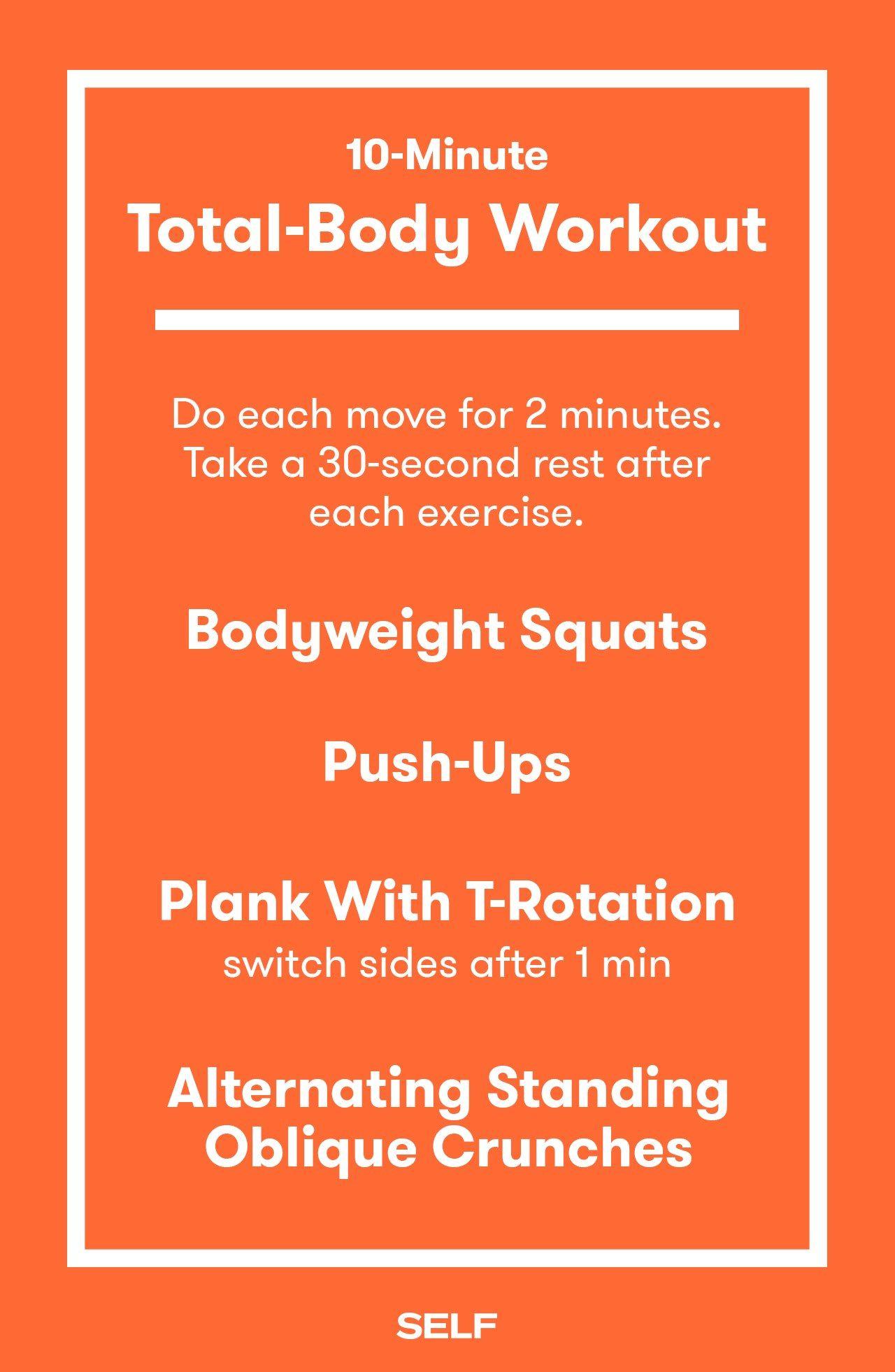 foto 10-Minute Bodyweight Circuit Workout