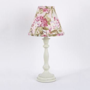 Tea party crib bedding by cotton tale designs is a beautiful combination of soft vintage florals the tea party lamp shade measures 19 inches in height