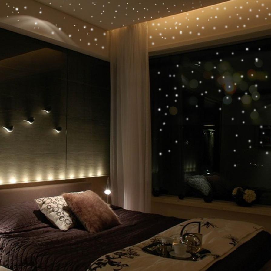 Starry Night Glow In The Dark Luminous Dot Room Decorations