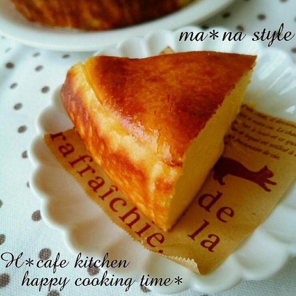 ♡簡単♡混ぜて焼くだけ♪パイナップルベイクドチーズケーキ
