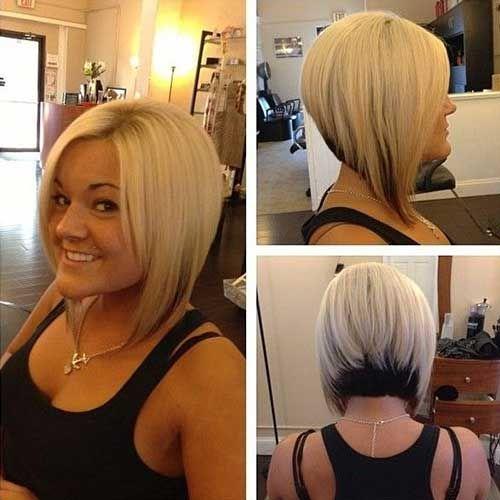 35 Brief Stacked Bob Hairstyles Short Hairstyles Bob Frisur Frisuren Kurz Blond Haarschnitt Kurz