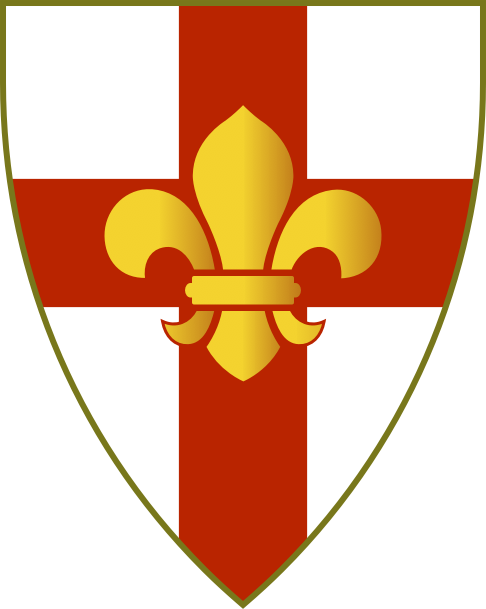 The Arms Of The City Of Lincoln Cc Ant Allan 2010 2012 Coat Of Arms City Logo Holy Cross