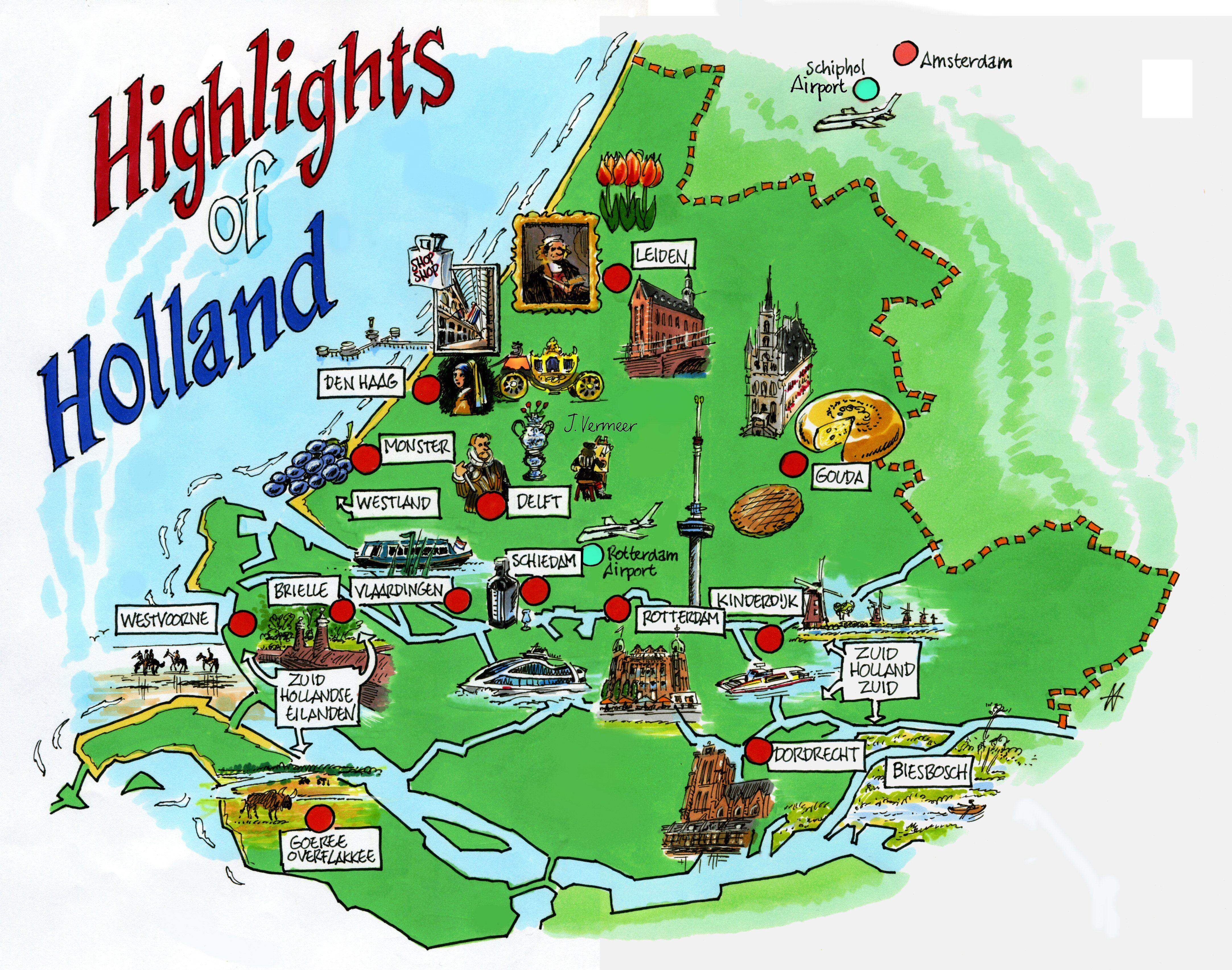 Highlights Holland Netherlands