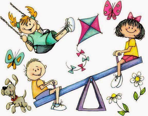 Bau Da Web Desenhos De Criancas Brincando Com Imagens