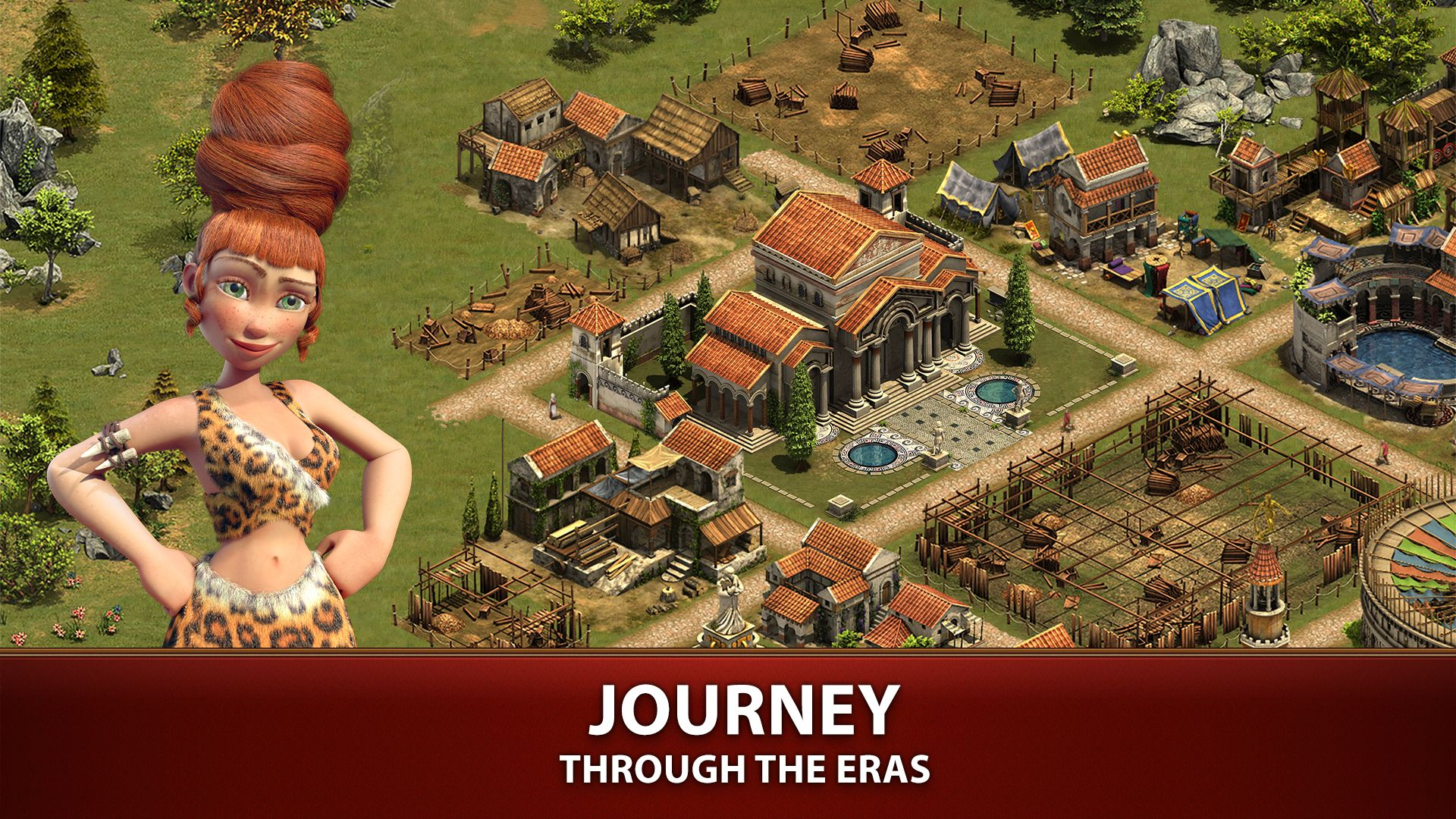 Build Your City And Evolve From The Stone Age To Modern Times And