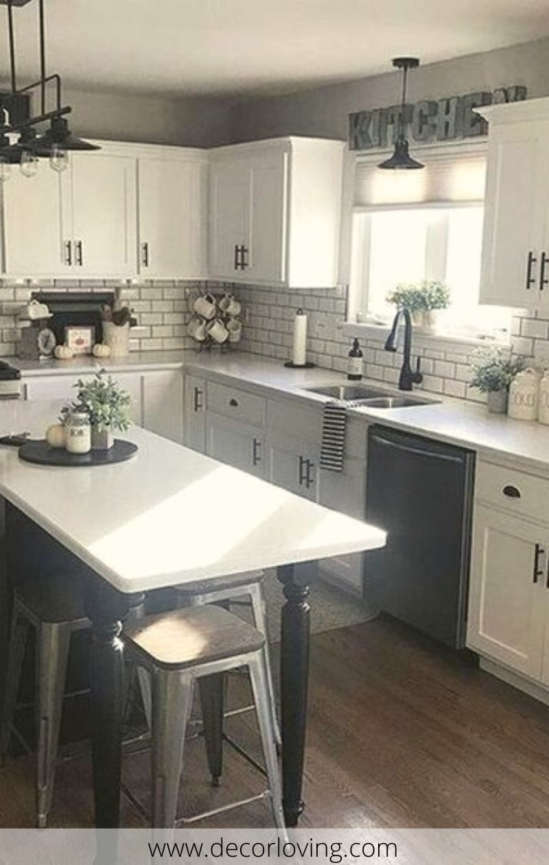 It is true that there is a wide range of interior designs that you can choose from. Despite the advantages and disadvantages of each type, what you pick usually boils down to personal preference. It is your home after all and every detail inside it, from the rug to the chandelier, should be to your satisfaction.  #kitchenideas #smallkitchenideas #kitchendecoratingideas #kitchendecorthemes #kitchendecor