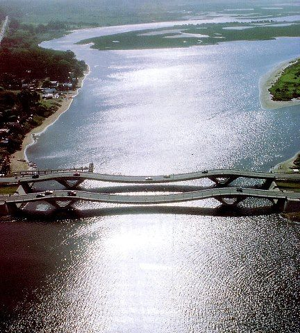 Puente de la Barra in Uruguay