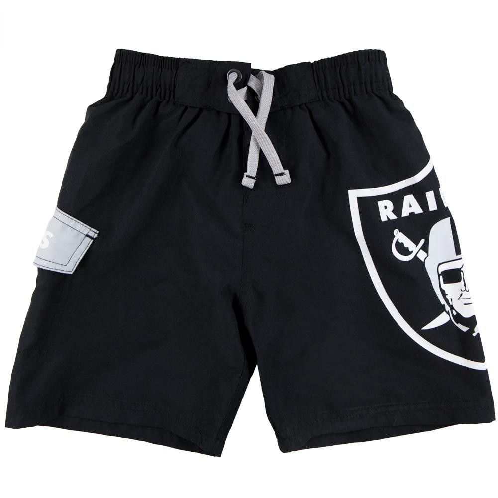 Oakland Raiders - Large Logo Juvy Board Shorts
