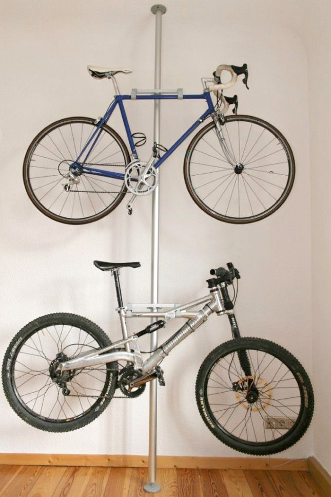 Awesome 14 Space Saving Storage Solutions For Your Bike