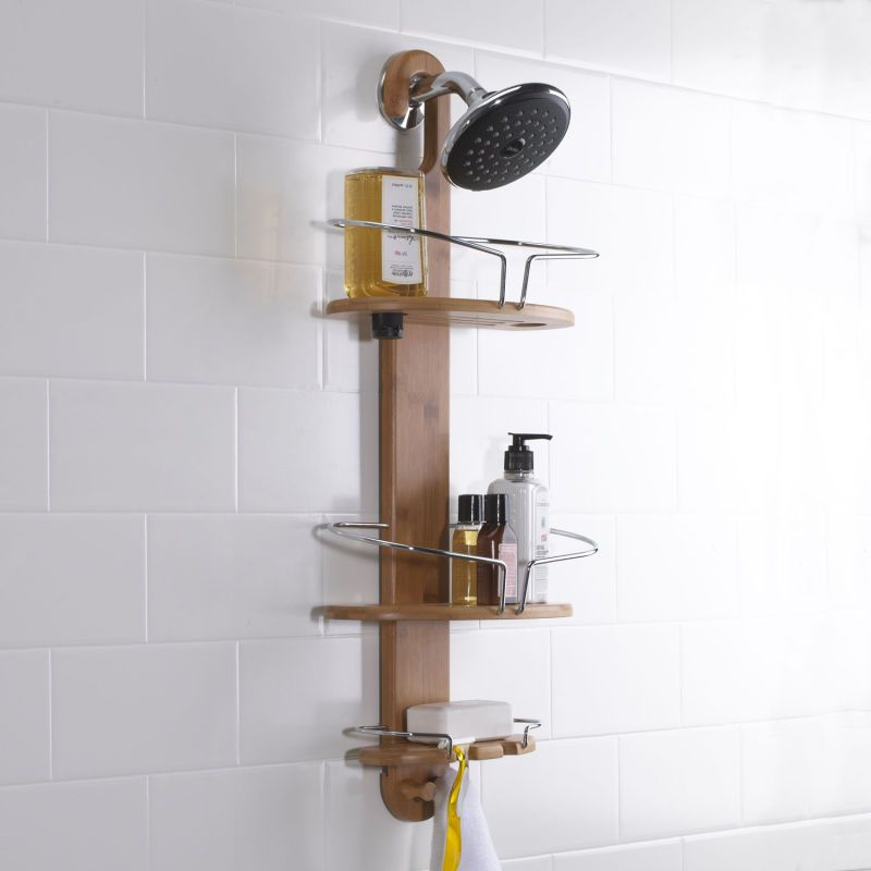 Buy shower rings, caddies, bath storage, squeegees, stoppers ...