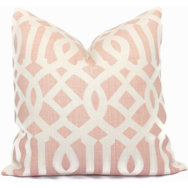 Kelly Wearstler Blush Pink Imperial Trellis Decorative Pillow Covers Awesome Light Pink Decorative Pillows