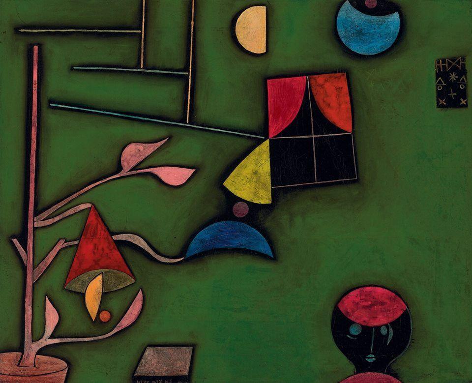 Paul Klee. Finestra i natura morta, 1927.