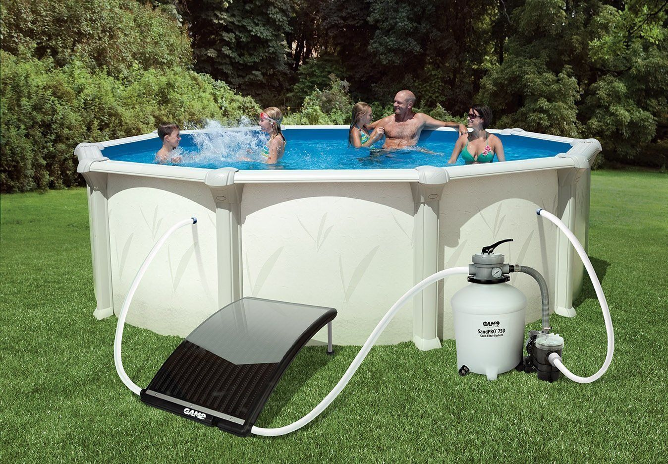 Zwembad Heater Intex Pool Solarpro Curve Single Solar Pool Heater For Pools Pool4721