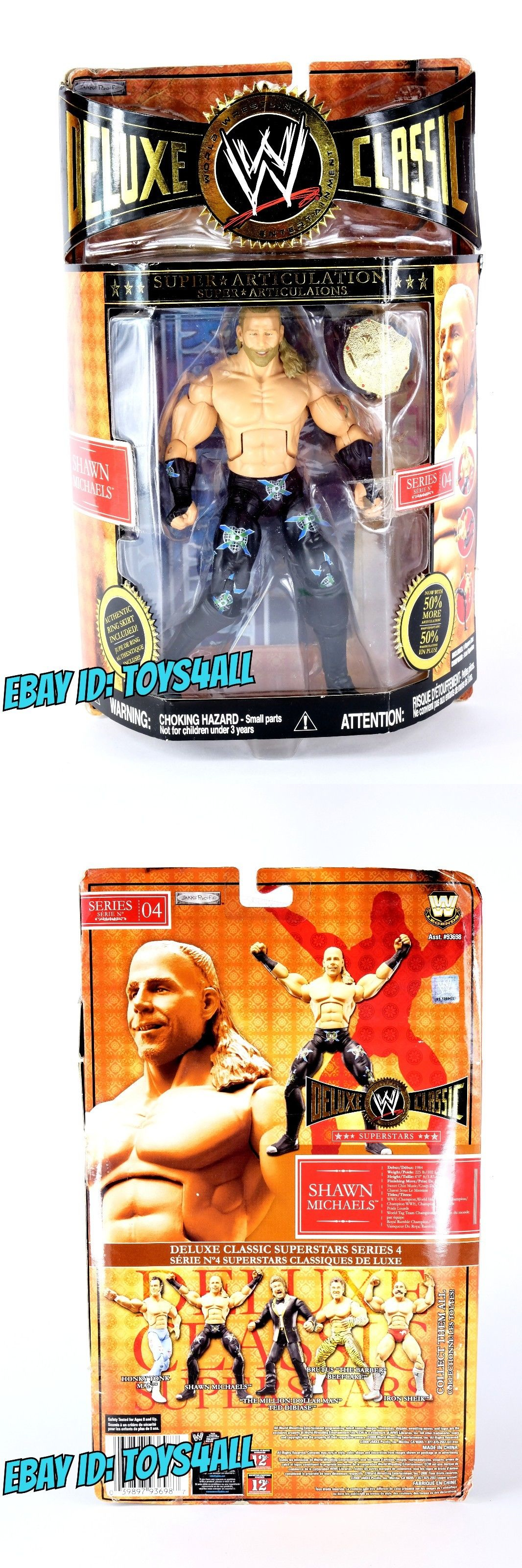 Someone bought this wwf superstars shoot out tabletop hockey game - Sports 754 Shawn Michaels Wwe Jakks Deluxe Classic Superstars Wrestling Figure Moc_bx3