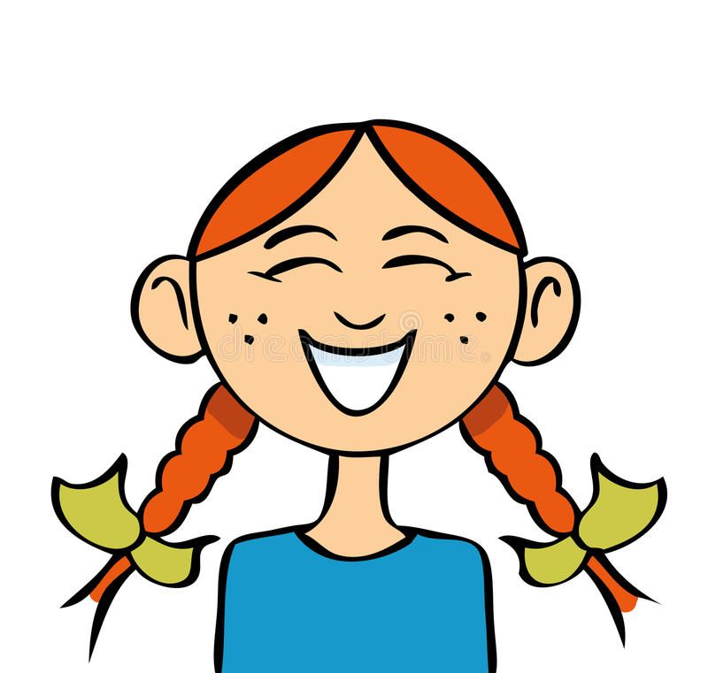 Laughing Girl Cartoon Images