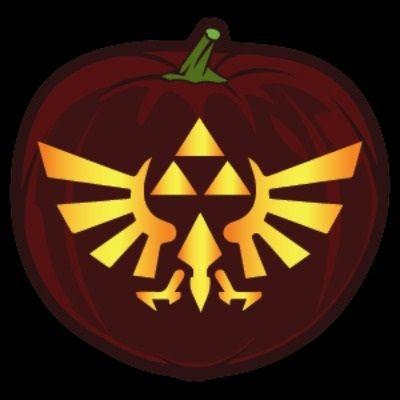pumpkin template zelda  Pop Culture Pumpkin Printables in 6 | Pumpkin, Pumpkin ...