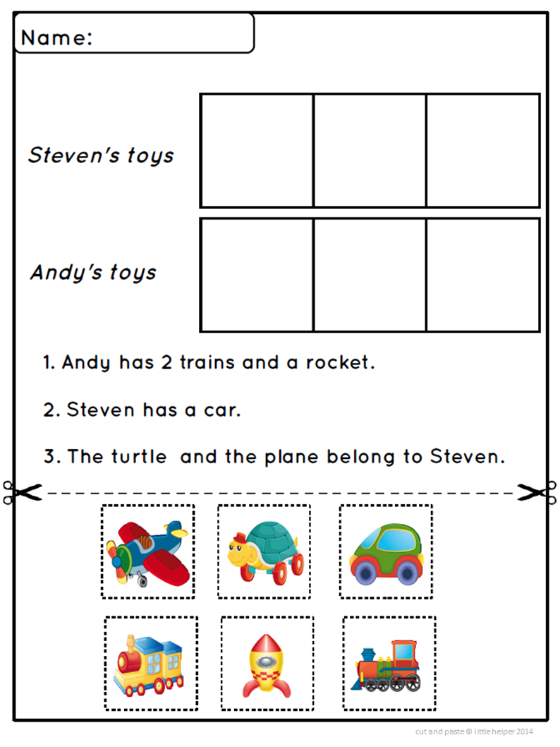 Worksheets Cut And Paste Sentence Worksheets kindergarten read cut and paste activity correct sentence fun engaging worksheets for beginning readers