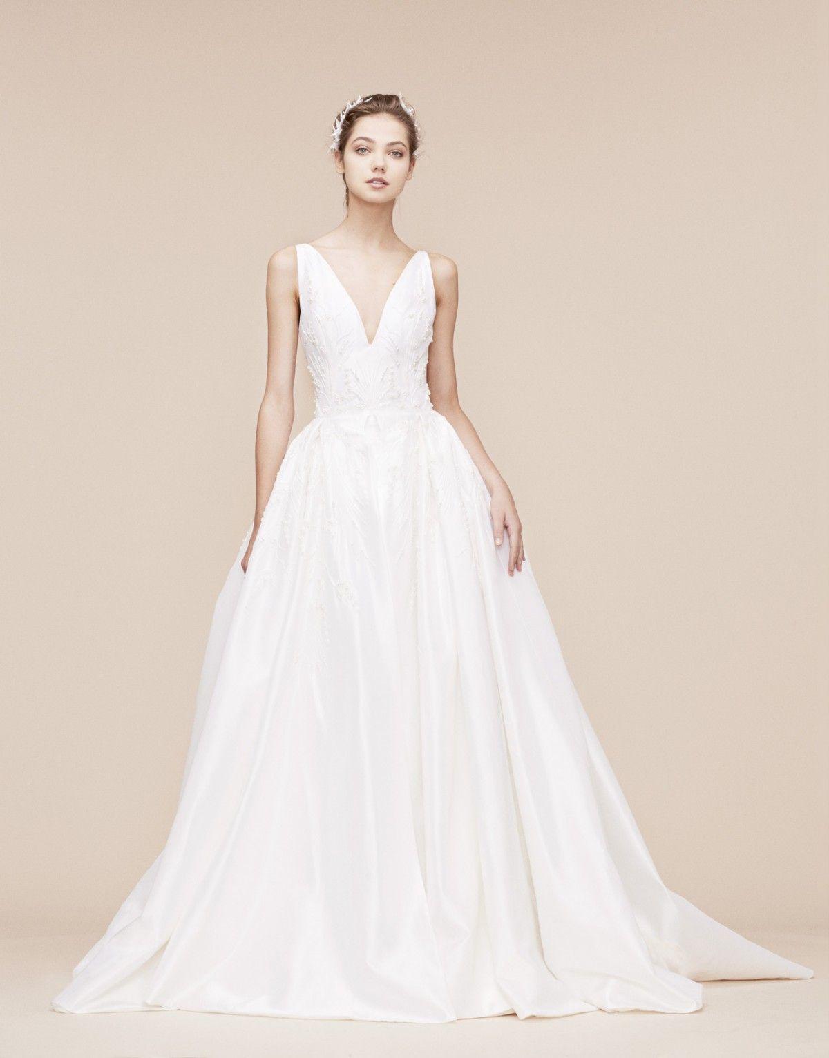 Dusty blue wedding dress  Georges Hobeika  Bridal Bridal AW   Look   Fashion