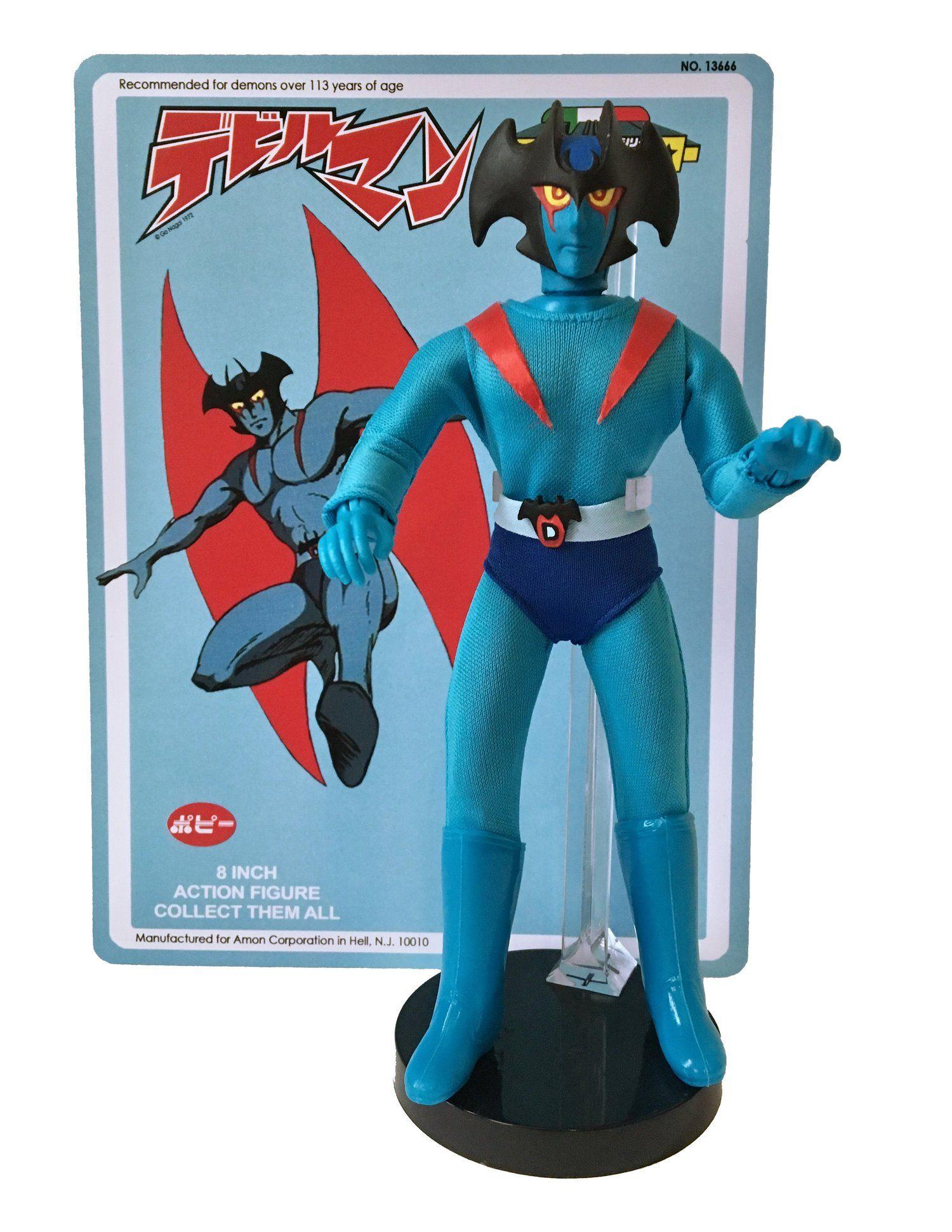 Custom mego style 1972 devilman character anime