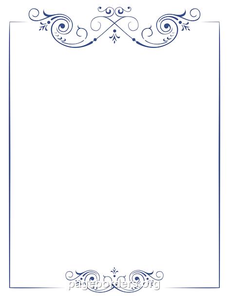 scroll templates printable
