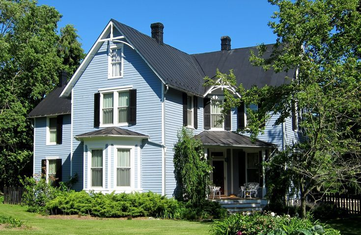 Introduction To American Victorian House Styles Houses Big And