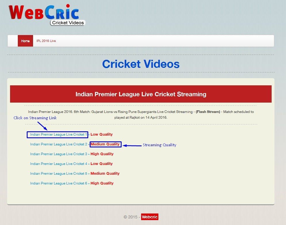 webcric live cricket streaming Live cricket streaming