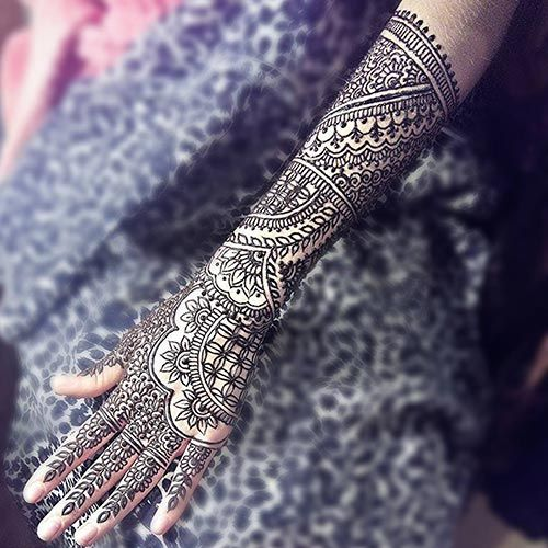 20 Beautful Henna Designs For Nikah: 20 Outstanding Bridal Mehendi Designs For Your Wedding Day
