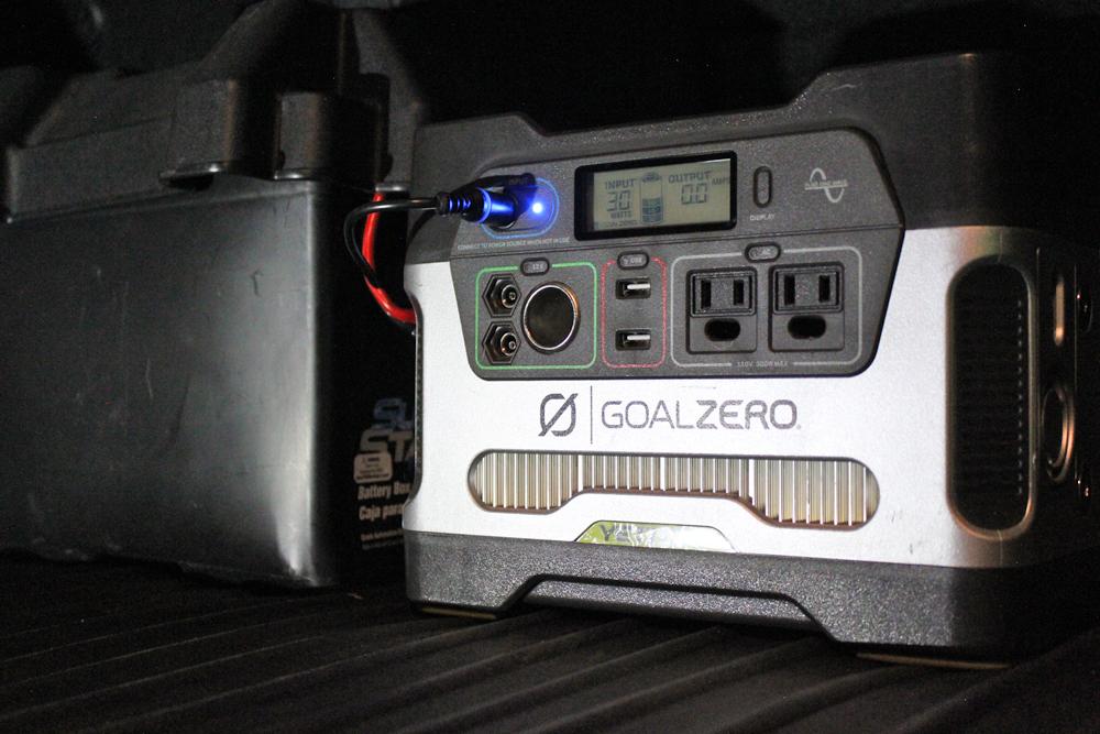 Goal Zero Yeti 400 1200 Power Briefcase Solar Set Up For 4runner Solar How Solar Power Works Solar Energy