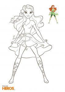 Coloriages Dc Super Hero Girls A Imprimer Gratuitement Com