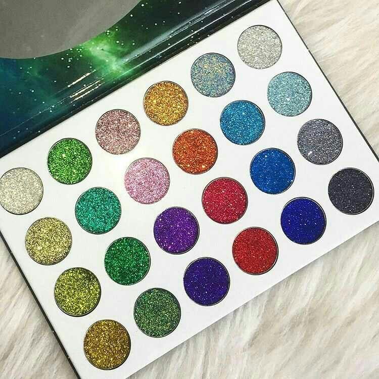 Pinterest @IIIannaIII *Unicorn Sky* Glitter Palette from @bellanoiacollection