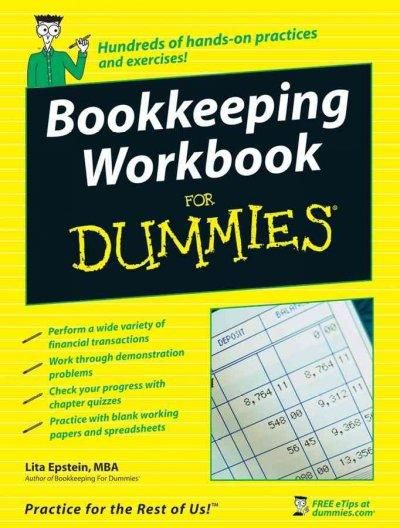 Bookkeeping Workbook for Dummies (Paperback) Bookkeeping business - tracking employee training spreadsheet