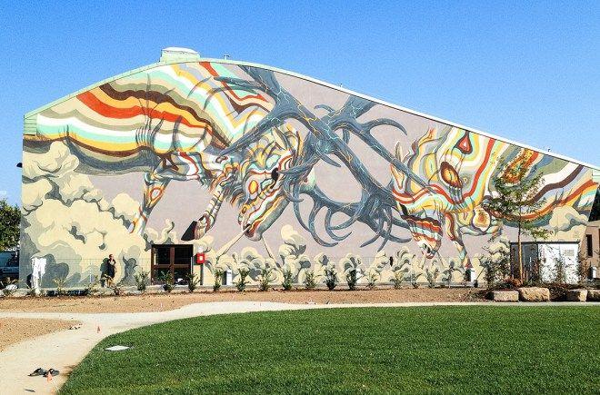 Luca Zamoc In Novi Di Modena Italy 2016 Murals 6 Pinterest