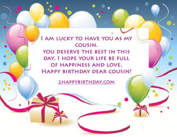 Your Life Happy Birthday The Charming Cousin Whole World Wishes Happy Birthday Wishes To My Cousin