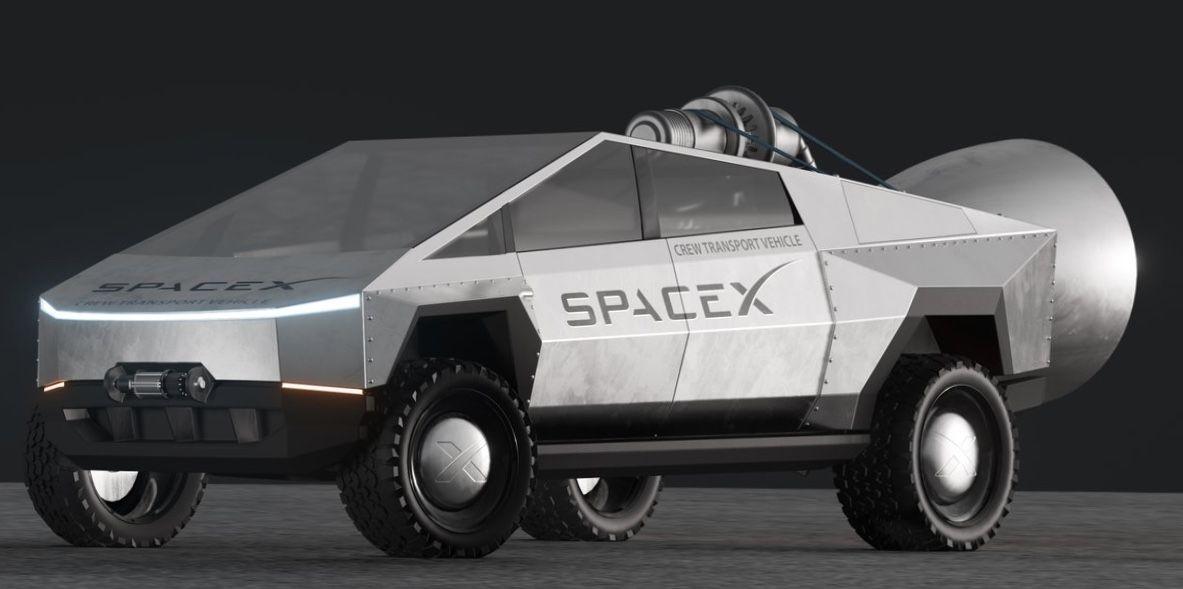 Tesla Moon Car Tesla Monster Trucks Car