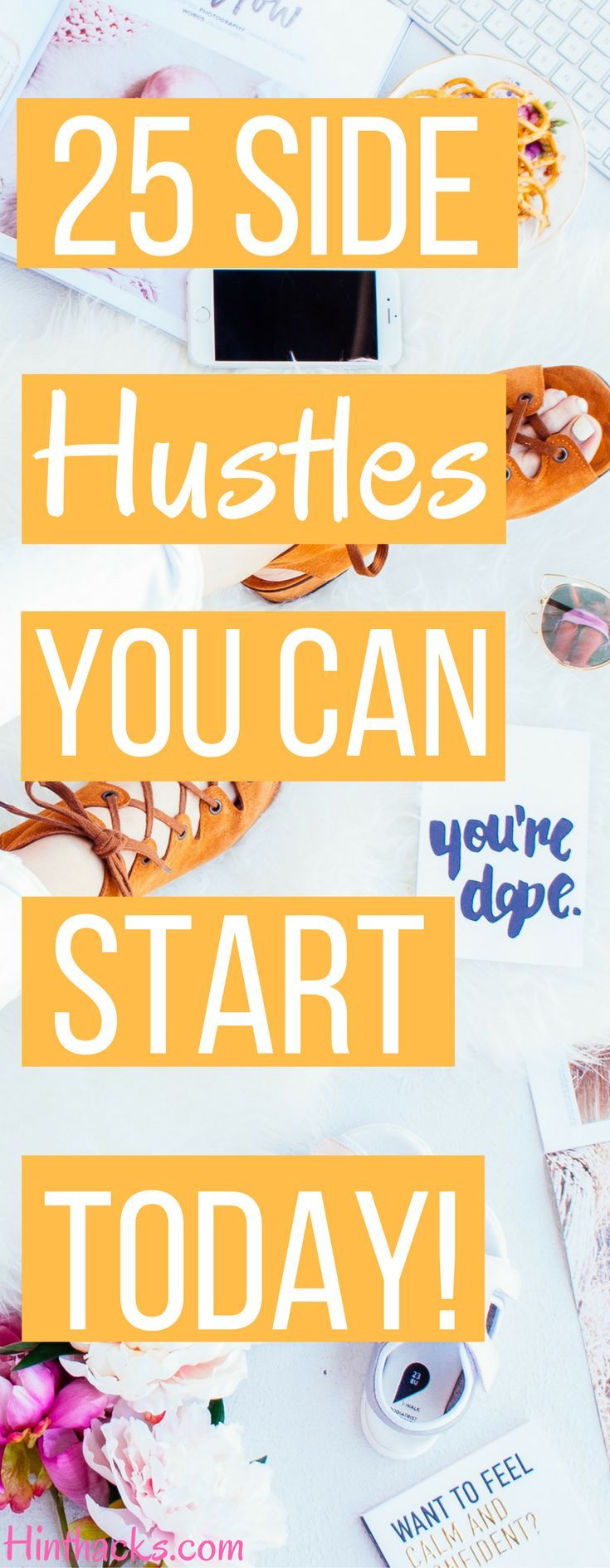 25 side hustle ideas you can start today | online business