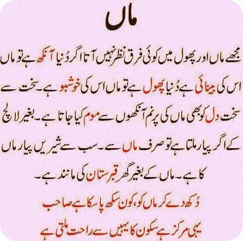 Urdu Quotes On Parents Google Search Mother N Father Urdu