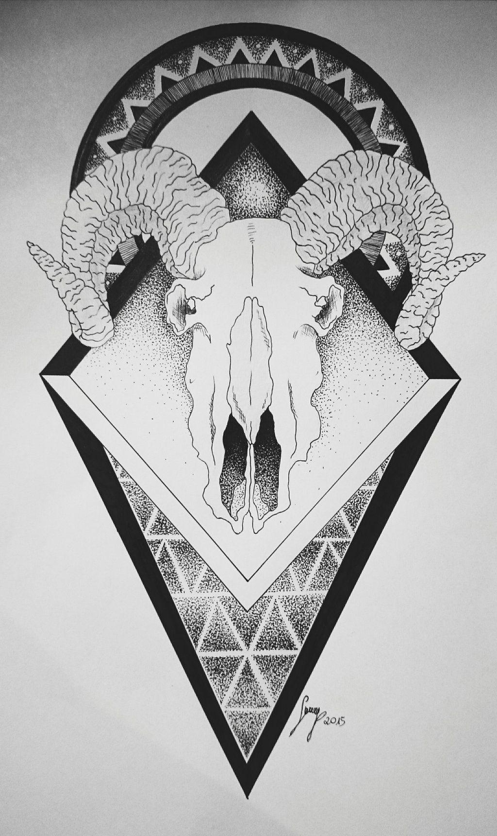 Image Result For Animal Skull Tattoo Animal Skull Tattoos Animal Skulls Calf Tattoo